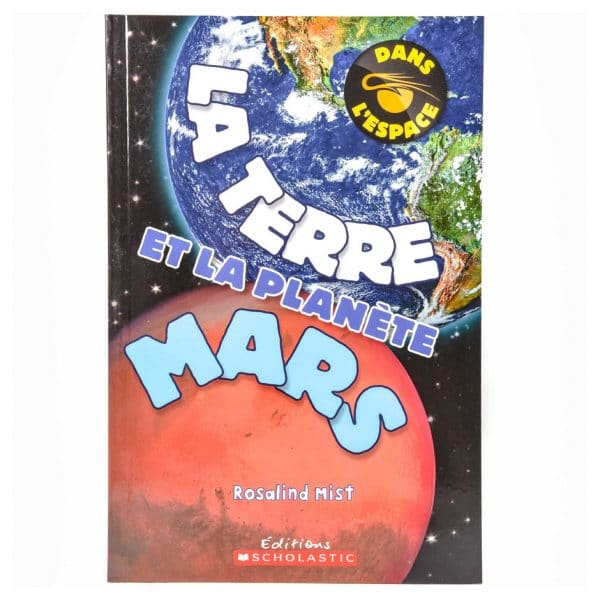 Dans l'espace : La Terre et la planète Mars