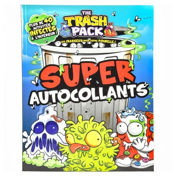 The Trash Pack: Super autocollants