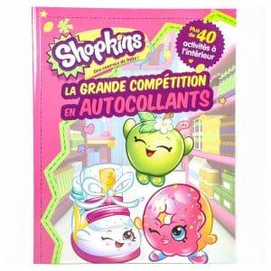 Shopkins:  La Grande Compétition En Autocollants