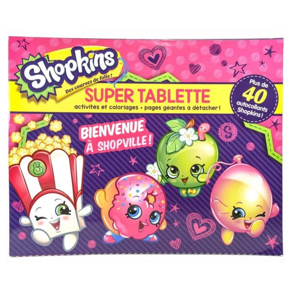 Shopkins: Super Tablette Bienvenue à Shopville!