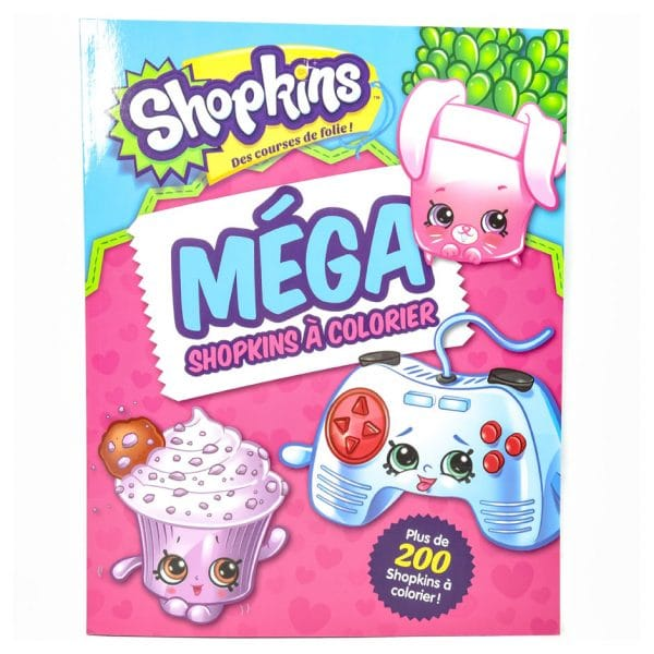Shopkins: Méga Shopkins à Colorier