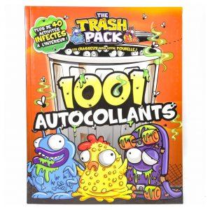 The Trash Pack: 1001 Autocollants