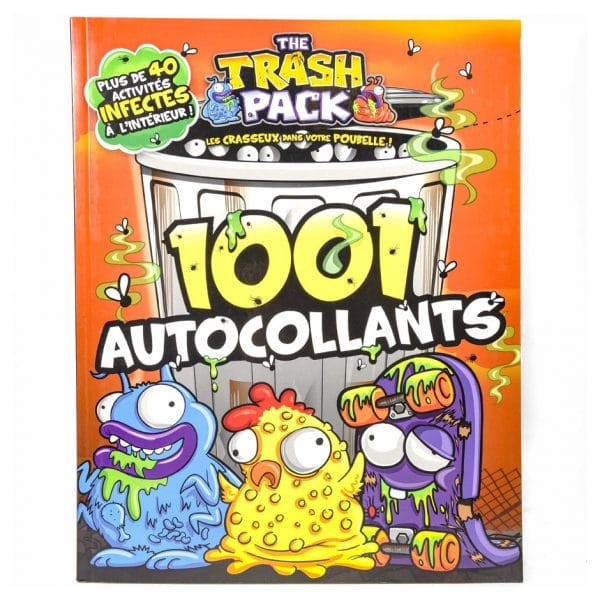 The Trash Pack: 1001 Autocollants