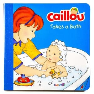Caillou Takes a Bath