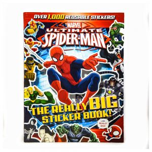 Marvel Ultimate Spider-Man The Really Big Sticker Book!