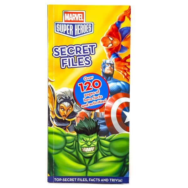 Marvel Super Heroes Secret Files