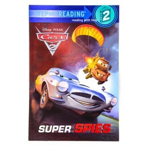 Disney Cars 2 Super Spies Step into Reading Step 2