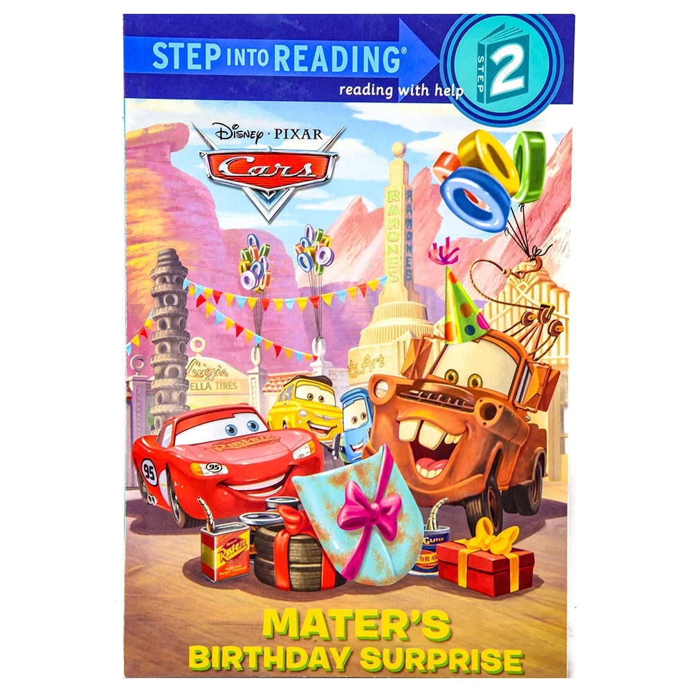 Disney Cars Mater's Birthday Surprise Step Into Reading