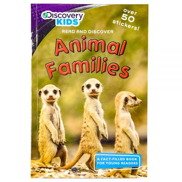 Discovery Kids Read and Discover Animal Families
