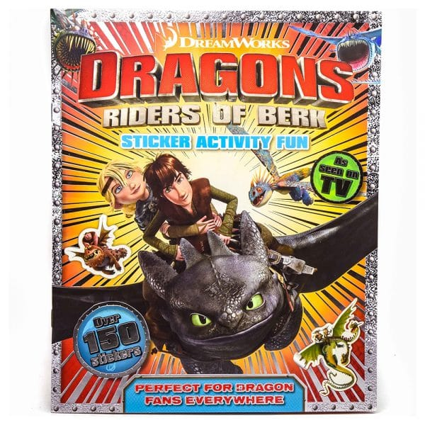Dragons Riders of Berk Sticker Activity Fun