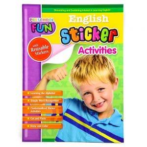 Preschool Fun English Sticker Activities