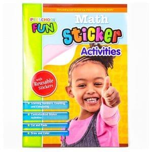 Preschool Fun Math Sticker Activities
