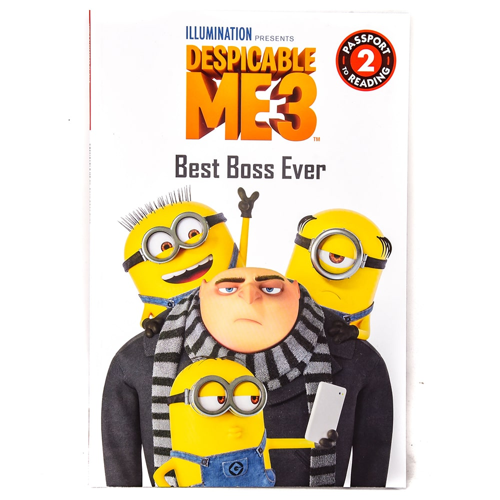 Despicable Me 3 Best Boss Ever Passport To Reading Level 2 Samkos