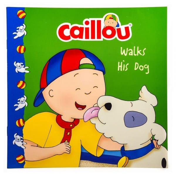 Caillou Walks His Dog