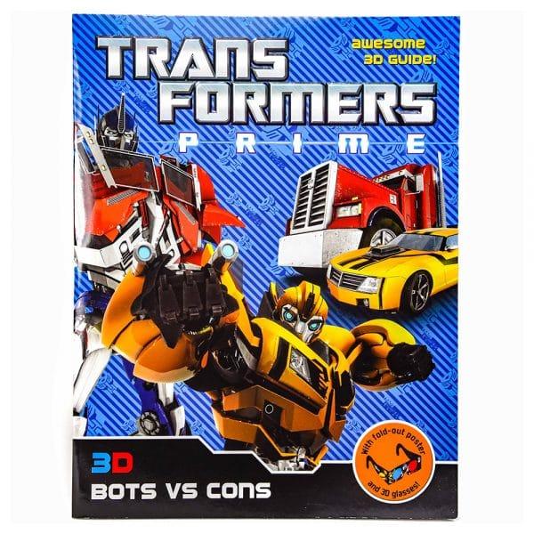 Transformers Prime 3D Bots vs Cons