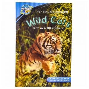 Discovery Kids Read and Discover Wild Cats