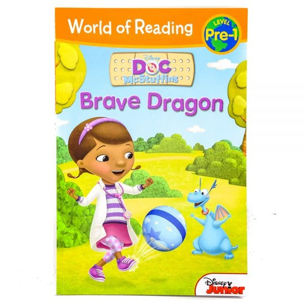 Doc McStuffins Brave Dragon World of Reading Level Pre-1