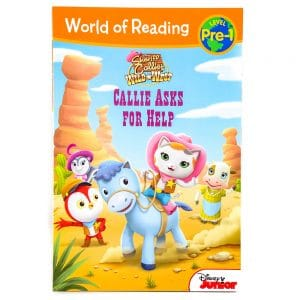 Sheriff Callie's Wild West Callie Asks for Help World of Reading Level Pre-1