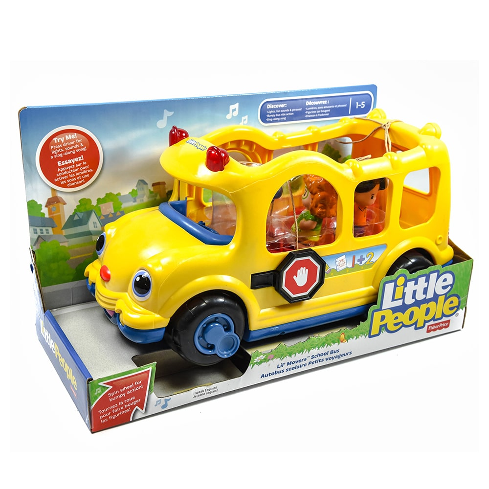 Fisher Price Little People Lil Movers School Bus | Samko and Miko ...