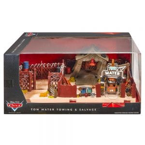 Disney Cars Tow Mater Towing and Salvage Playset