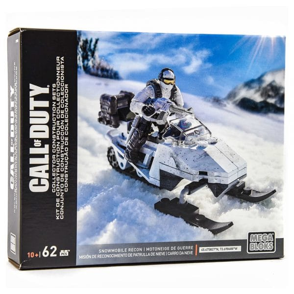 Mega Bloks Call of Duty Snowmobile Recon