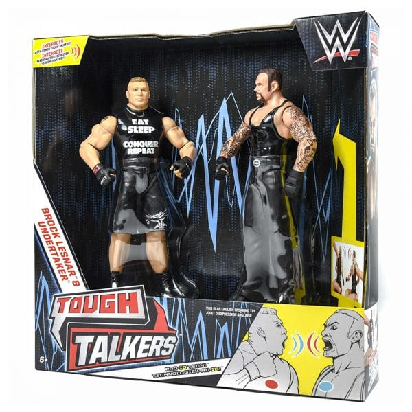 WWE Tough Talkers Brock Lesnar vs Undertaker