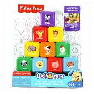 Fisher Price Laugh and Learn Animal Blocks