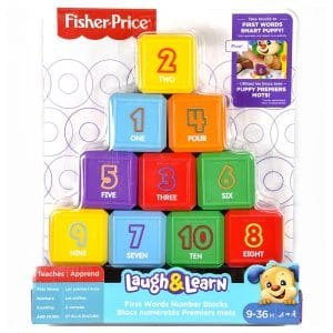 Fisher Price Laugh and Learn Number Blocks