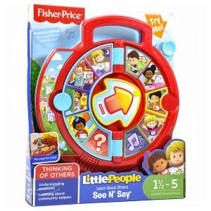 Fisher Price Little People Learn about Others See N Say