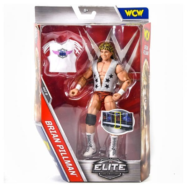 WWE Elite Collection Brian Pillman Figure
