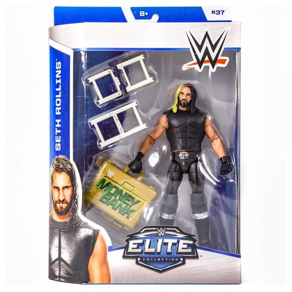 WWE Elite Collection Seth Rollins Figure