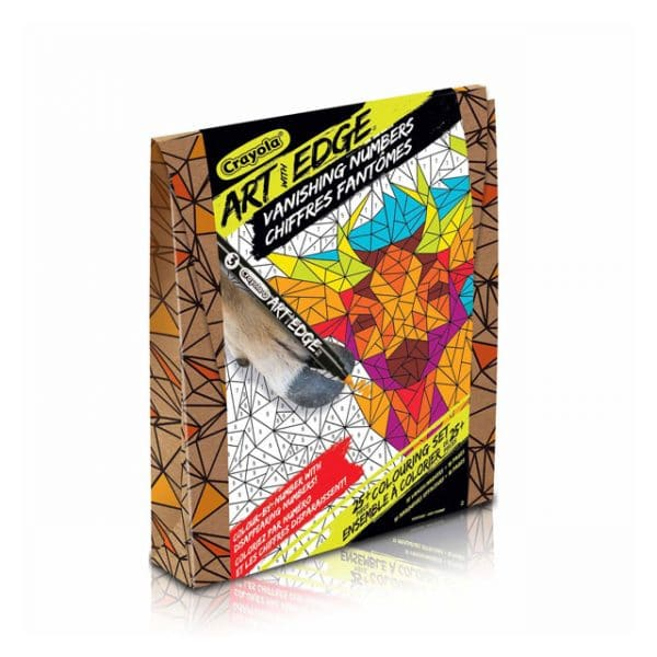 Crayola Art with Edge - Vanishing Numbers