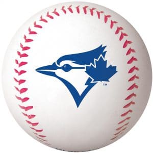 Rawlings Blue Jays Baseball - Big Fly High Bounce Ball