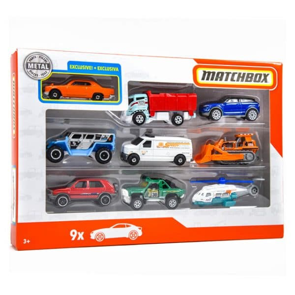 Matchbox 9 Car Pack