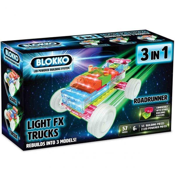 Blokko LED Powered Building System - Road Runner