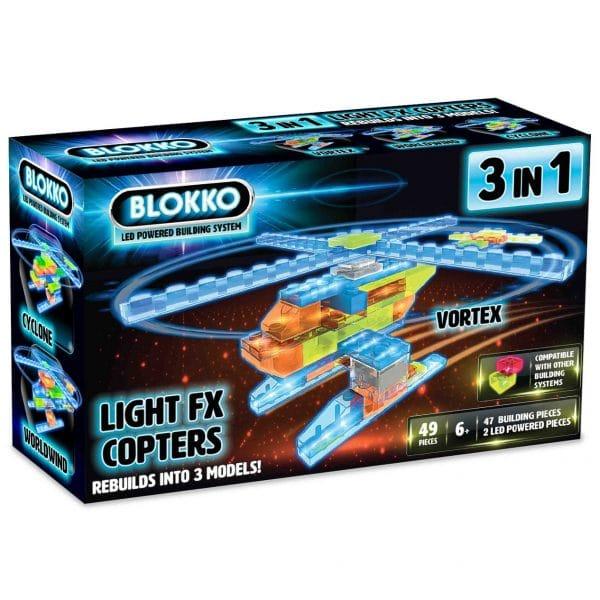 Blokko LED Powered Building System - Vortex