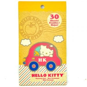 Hello Kitty Notepad 30 Sheets Personal Pad