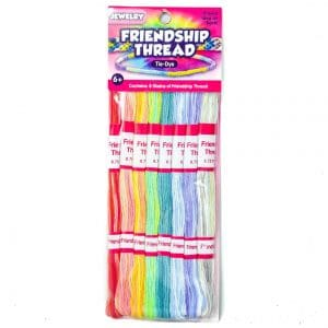Friendship Thread Tie-Dye