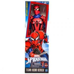 Marvel Spider-Man Titan Hero Series Spyder Knight Figure