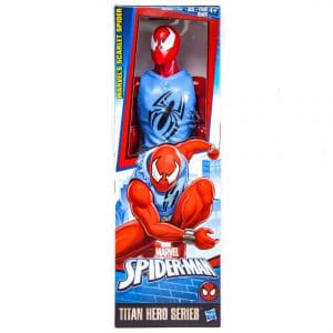 Marvel Spider-Man Titan Hero Series Scarlet Spider Figure