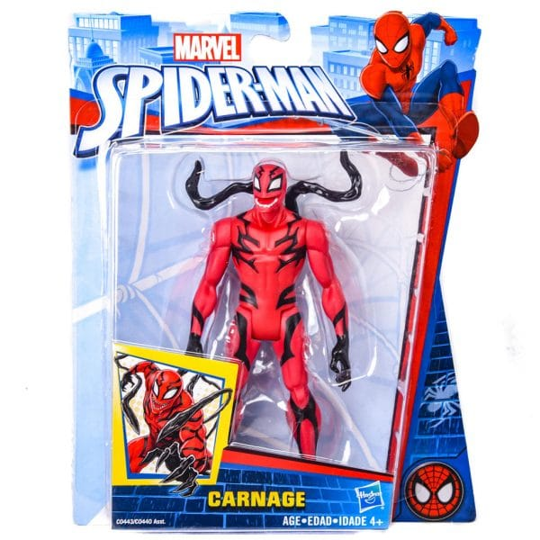 Marvel Spider-Man Carnage Action Figure 6""