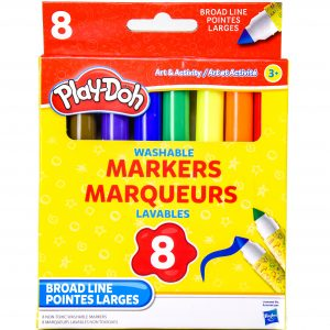 Play-Doh Washable Markers 8 Pack