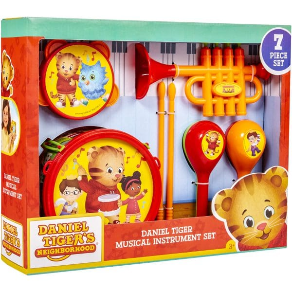 Daniel Tiger Musial Instrument Set