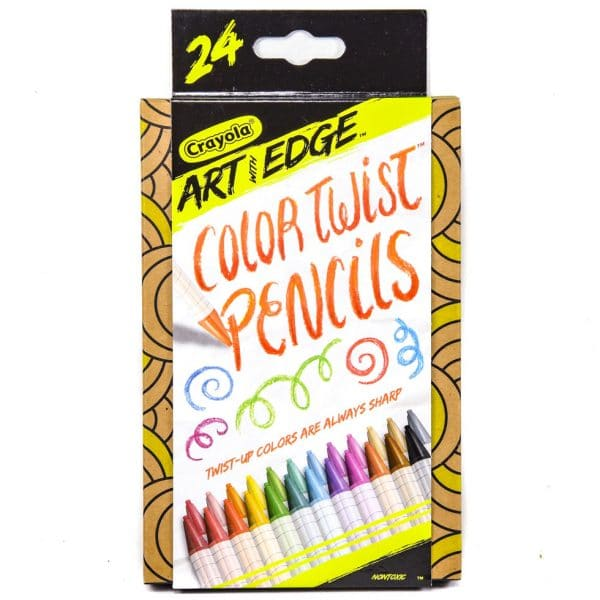Art with Edge Color Twist Pencil
