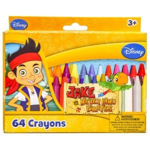 Disney Junior Jake and the Never Land Pirates 64 Crayons