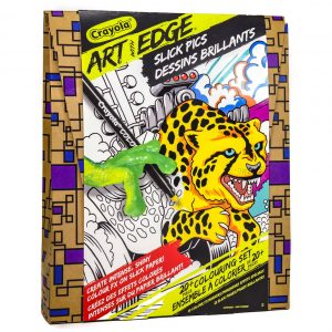 Crayola Art with Edge Slick Pics Colouring Set