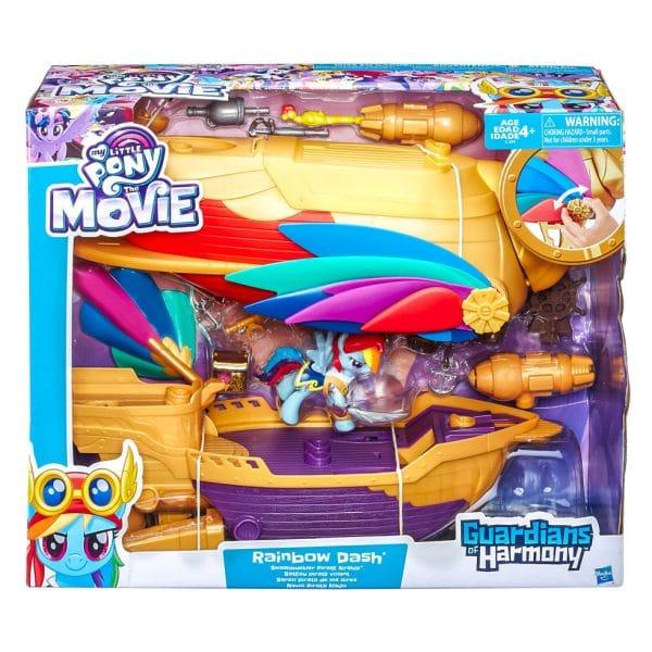 My Little Pony The Movie Rainbow Dash Swashbuckler Pirate Airship