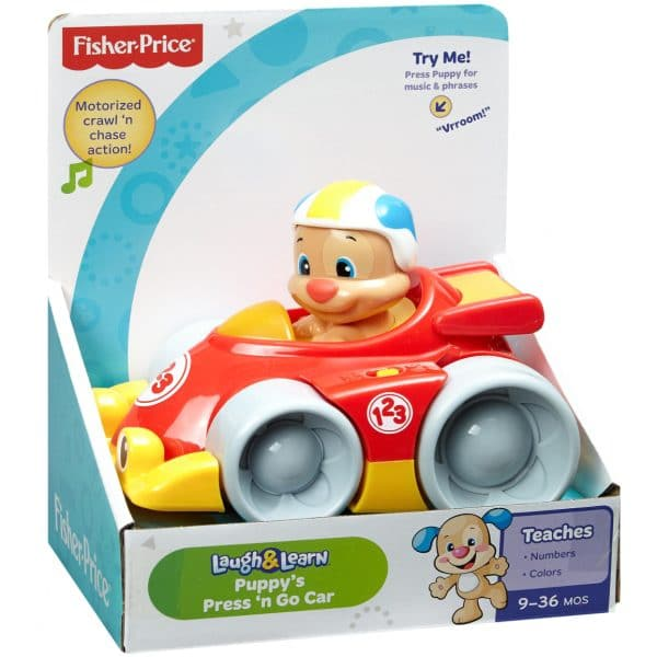 Fisher-Price Puppy's Press 'n Go Car