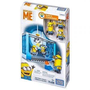 Mega Bloks Despicable Me Factory Fiasco Figure Pack