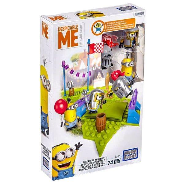 Mega Bloks Despicable Me Medieval Minions Figure Pack
